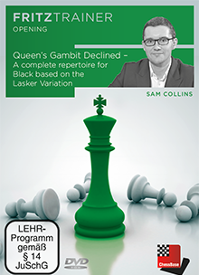Collins: Queen´s Gambit Declined - A complete repertoire for Black based on the Lasker Variation