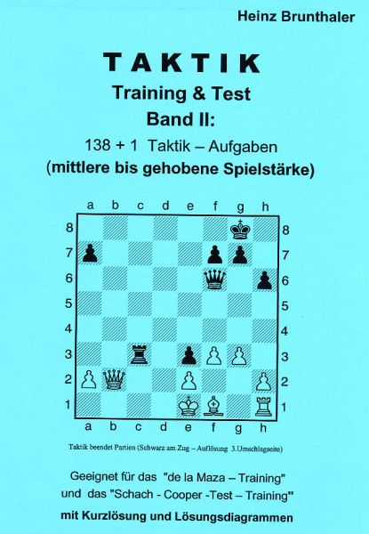 Brunthaler, Taktik Training & Test Band 2