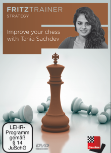 Sachdev: Improve your chess with Tania Sachdev
