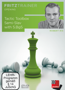 Ris: Tactic Toolbox Semi-Slav with 5. Bg5