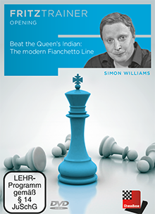 Williams: Beat the Queen´s Indian: The modern Fianchetto Line