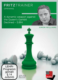 Williams: A dynamic weapon against the Queen´s Gambit Declined - 5. Bf4
