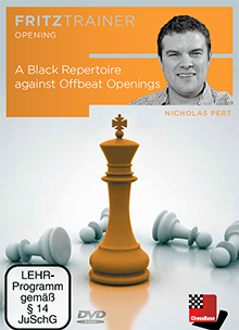 Pert: A Black Repertoire against Offbeat Openings