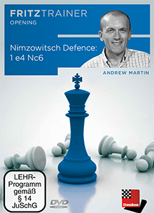 Martin: Nimzowitsch Defence: 1. e4 Nc6