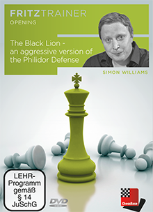 Williams: The Black Lion - an aggressive version of the Philidor Defense