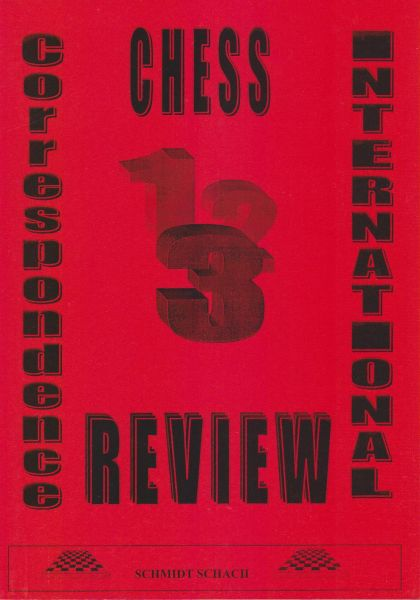 International Correspondence Chess Review – Band 3