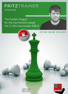 Nielsen: The Sicilian Dragon for the Tournament player Vol. 2 Main Line except 9. Bd4